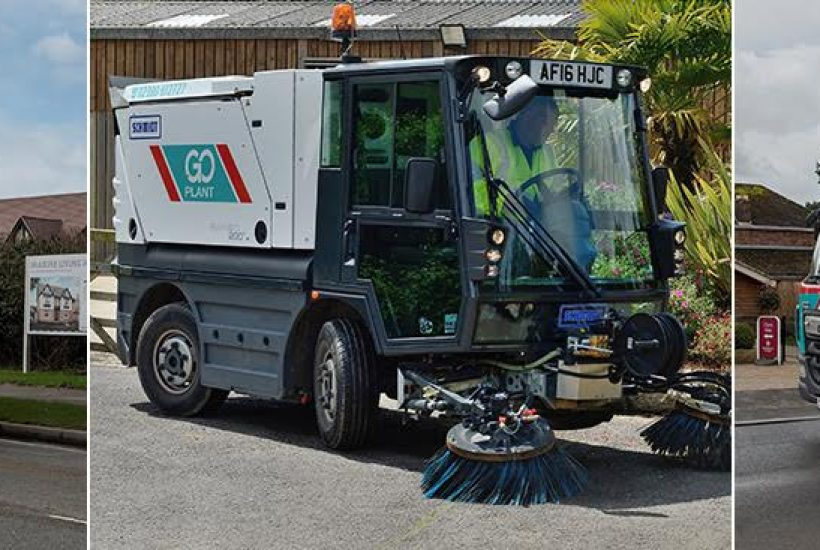 Road Sweeper Hire Locations