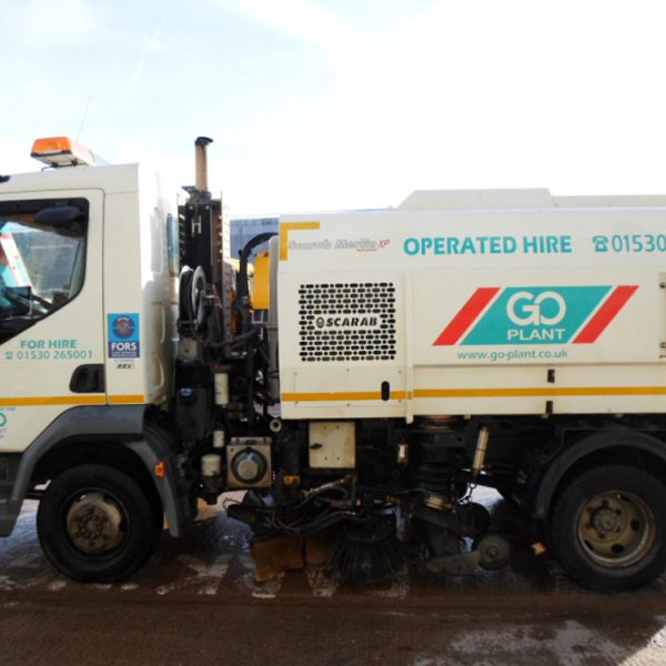 7.5T truck mounted sweepers