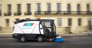 Compact Pedestrian Sweepers