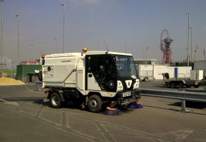 operated sweepers