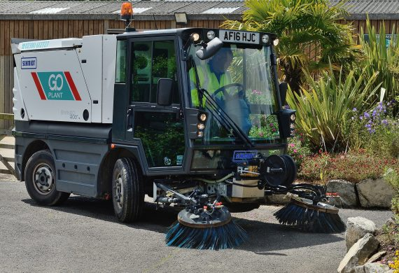 Pedestrian Sweepers Product Breakdown