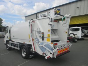 Refuse Collection Vehicles Bin