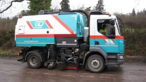 self drive sweeper hire