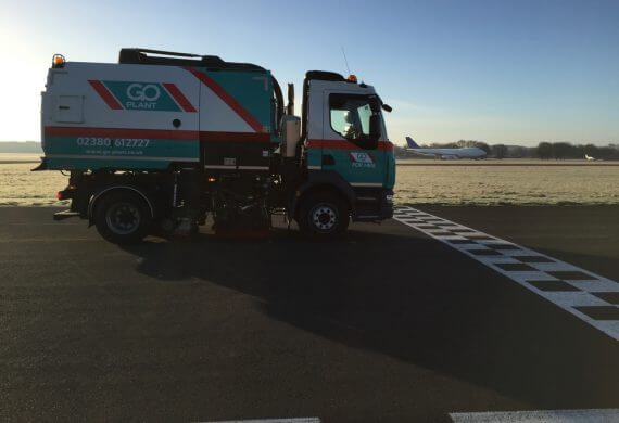 Case Study - Thruxton Race Circuit Road Sweepers