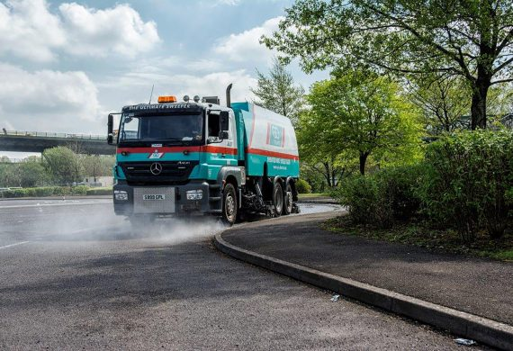 Back to Black Road Sweepers in Kent