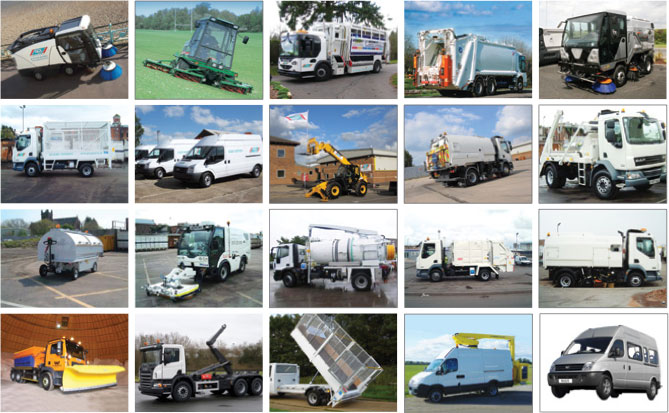 Types of Sweeper Contract Hire