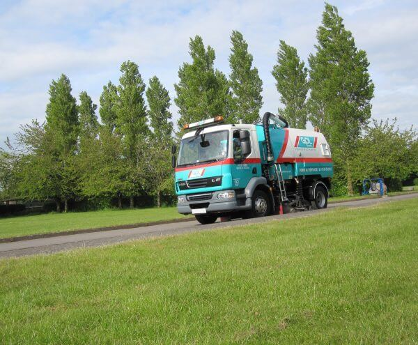 Operated Sweeper Hire
