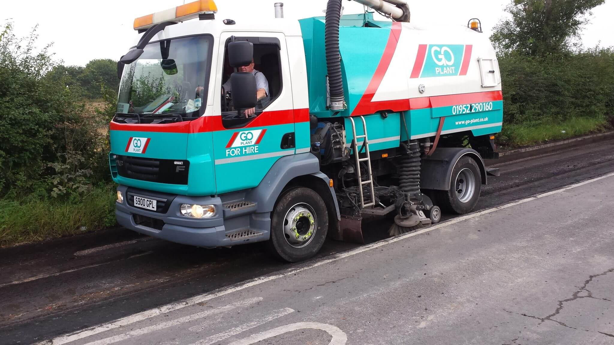 road sweepers in the north west
