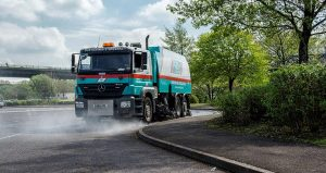 specialist road sweeper hire