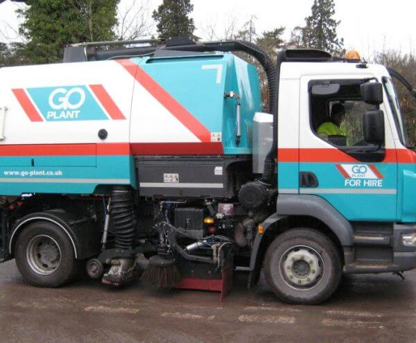 road sweeper hire in Shropshire